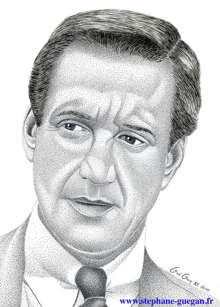 Roy Scheider por GUEGAN
